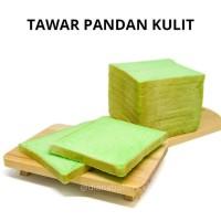 Roti Tawar Pandan Kulit | Roti Gandum | Roti Bakar | Roti Goreng
