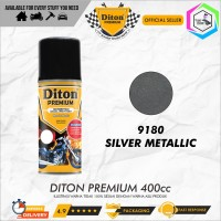 Diton PREMIUM 9180 Silver Metallic Cat Semprot /Pylox/Samurai/Helm