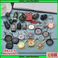 Gantungan Kunci PUBG Keychain Souvenir Panci PUBG Murah