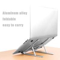 Stand Holder Dudukan Tatakan Laptop/Macbook/Notebook/Buku Adjustable - Silver