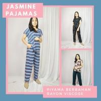 JASMINE PAJAMAS. PIYAMA RAYON MOTIF KEKINIAN - STANDART LD 110-120