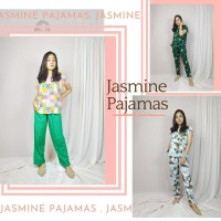 JASMINE PAJAMAS. PIYAMA RAYON JUMBO - LD130/LP70- BAHAN ADEM CANTIK