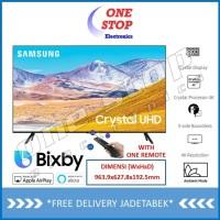 SAMSUNG 43TU8000 Crystal UHD 4K Smart TV 43 Inch UA43TU8000