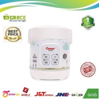 COSMOS Rice Cooker Digital Mini CRJ-1031 - 0.3 LT, Multi Fungsi 4in1
