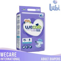 WECARE INTERNATIONAL ADULT DIAPERS SIZE XL 8