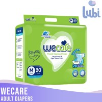 WECARE ADULT DIAPERS SIZE M 20