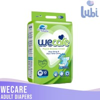 WECARE ADULT DIAPERS SIZE M 10