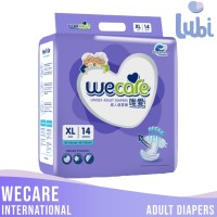 WECARE INTERNATIONAL ADULT DIAPERS SIZE XL 14