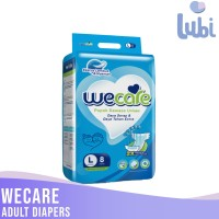 WECARE ADULT DIAPERS SIZE L 8