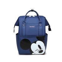 Anelo Diaper Bag Backpack Tas Perlengkapan Bayi Mickey Mouse Parasut