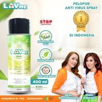 Lavme Disinfectant Spray Anti Virus Organic - 400 ML Kirakira