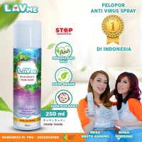 Lavme Disinfectant Spray Anti Virus Organic - 250 ML Candy Candy