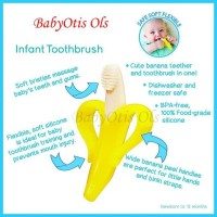 Sikat Gigi Bayi Baby Banana Tooth Brush Gigitan Teether