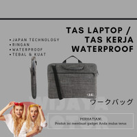 Tas Laptop Waterproof 10 11 12 13 14 15 17 inch Softcase Macbook Pro