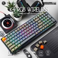Keychron K4 RGB - Wireless Gaming Keyboard (Aluminium Base)