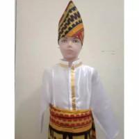 Baju Adat Lampung Anak cowok
