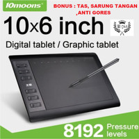 10moons G10 Graphic Drawing Tablet 10 x 6 Inch Original Vs Huion