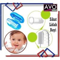 Sikat pembersih lidah gigi Bayi Silikon Baby Finger tooth tongue brush