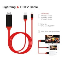 Kabel Converter HP iPhone Apple Lightning to TV HDMI iPad Cable LHD-20