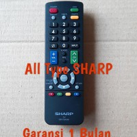 Remot Remote Sharp Aquos Original Ori Asli