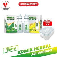Komix Herbal Tube Lemon & Original FREE Lunchbox