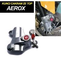 Ze Top Kunci Disk Cakram Yamaha Aerox 155 Gembok Anti Maling