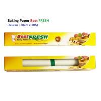 Baking Paper Best FRESH 30cm x 10M, plus pemotong