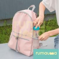 RUMAUMA Tas Ransel Lipat Korea Foldable Backpack Travel Unisex Bags