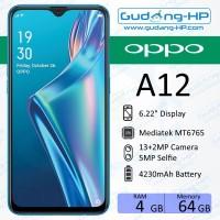 Oppo A12 4/64 GB Garansi Resmi