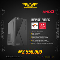 ARMAGGEDDON PC AMD 3.2Ghz / SSD 256 OFFICE / KANTOR / SEKOLAH / GAMING