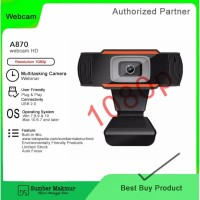 Webcam A870/ Cocok untuk WFH