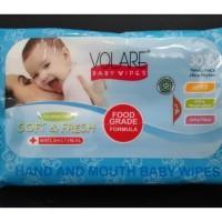 Volare 30 Hand Mouth Baby Wipes Antiseptic Tangan Mulut Bayi Tissue