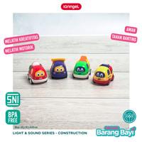 IQ ANGEL Construction Truck Toys / Mainan Edukasi Bayi Karakter Truck