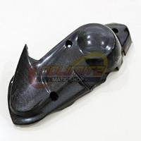 Cover Tutup Pelindung CVT Mesin Carbon Kevlar Parts Ori Yamaha NMAX