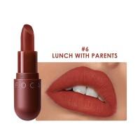 FA87 FOCALLURE NEW Matte lipstick red brown velvet lip Kosmetik #06
