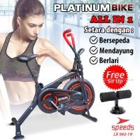Sepeda Statis Platinum Bike alat fitness spinning bike 042-19