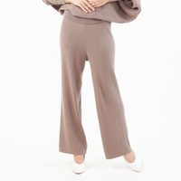Knitted Culottes Beatrice Clothing - Celana Kulot Panjang Rajut Wanita