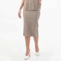 Knitted Pencil Skirt Beatrice Clothing - Rok Rajut Midi Wanita