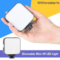 Mini LED Light Lampu Vlog Handphone LED Light Studio Video LED Camera