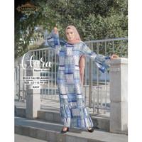 Gamis Busui / Homey Dress Ruffle Payung Tali Belakang Viscose Clara