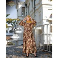 Gamis Busui Homey Dress Susun Payung Rayon Viscose Azalia