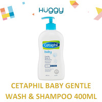 Cetaphil Baby Gentle Wash & Shampoo 400ml