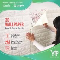 3D Wallpaper Dinding Foam Batu Bata 77cm X 70cm X 5mm kamar anak