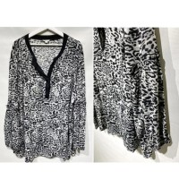 Blouse leopard big size merk Cato original branded