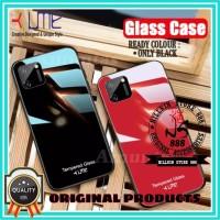 REALME C15 UME ORIGINAL TEMPERED GLASS CASE HARD COVER SOFT SILICONE