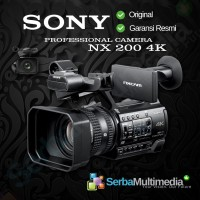 Sony HXR-NX200 4K Professional Camcorder Sony NX200