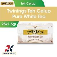 Twinings Teh Celup Pure White Tea 25x1.5gr