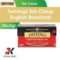 Twinings Teh Celup English Breakfast 25x2gr