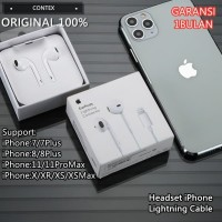 Headset Earphone Apple Iphone 7 7+ 8 8+ X XS Max XR Original