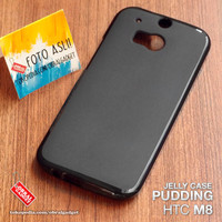 Soft Jelly Case HTC M8 Softcase Gel Silicon Silikon Casing Cover Karet